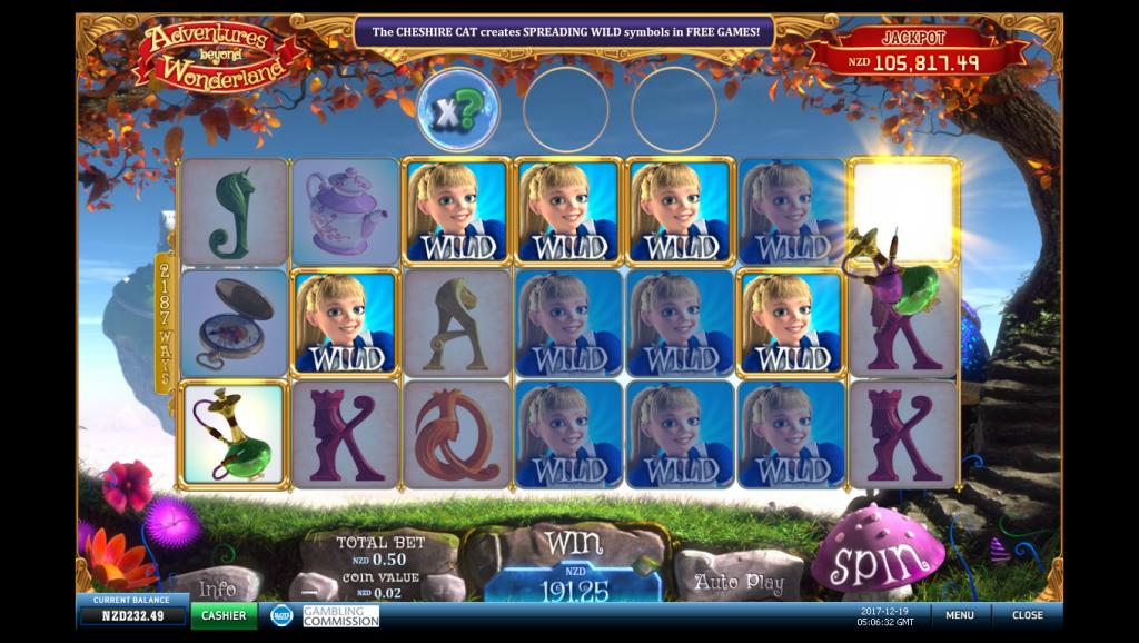 Adventures Beyond Wonderland screenshot.
