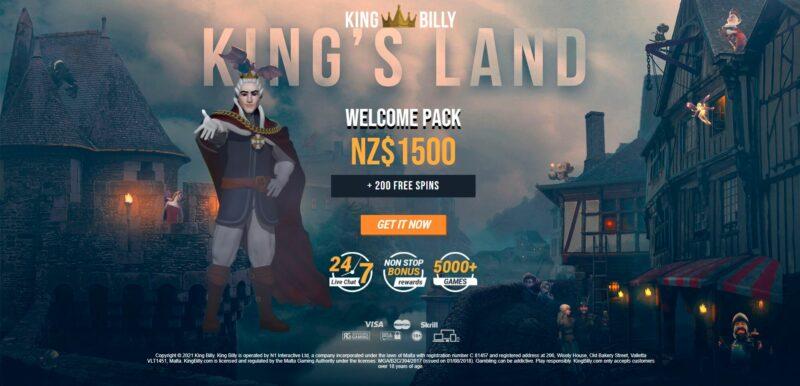 Bonus eksklusif di King Billy