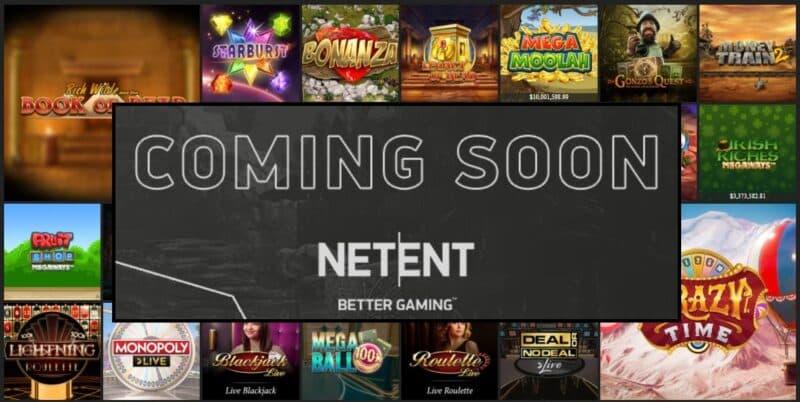 Los próximos juegos de casino en línea de NetEnt