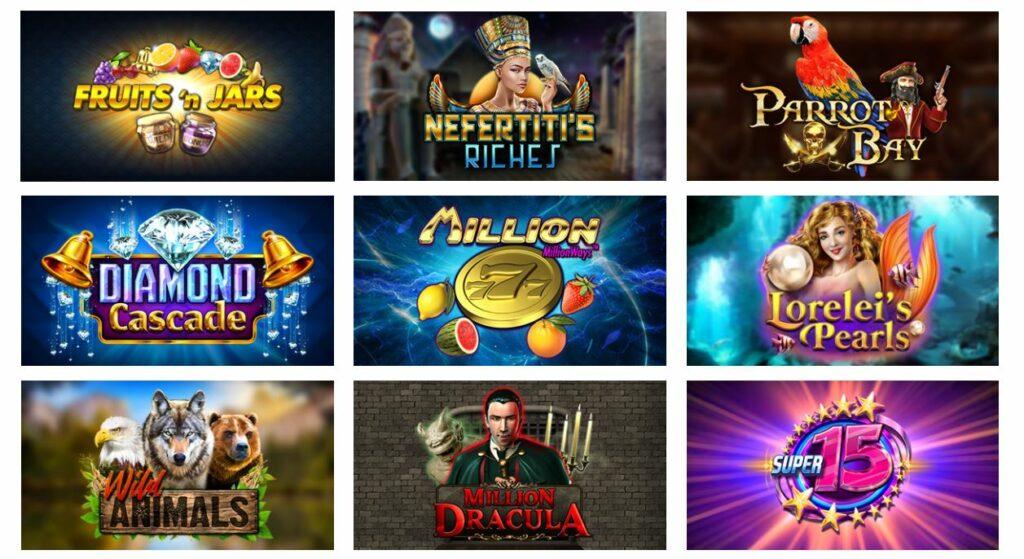top 8 nz online pokies by Red Rake Gaming.
