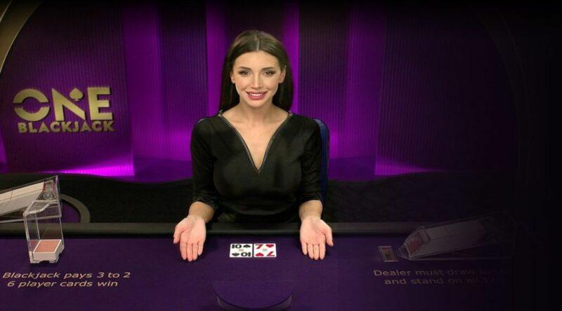 one blackjack live casino game.