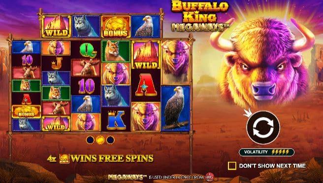 Buffalo King Megaways start