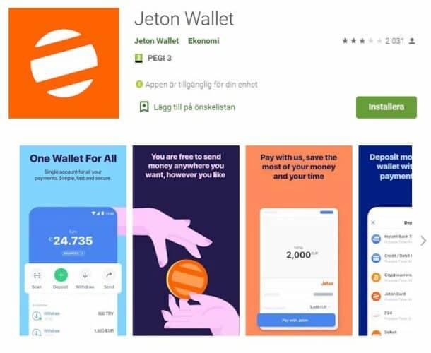 Jeton app