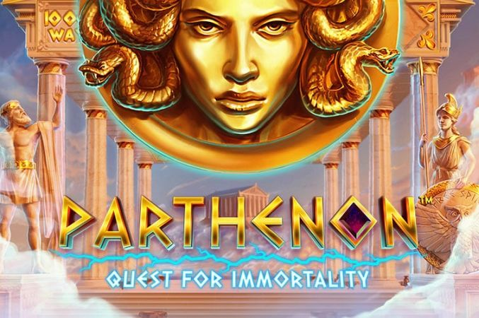 featired image for parthenon quest for immortality pokies by NetEnt.
