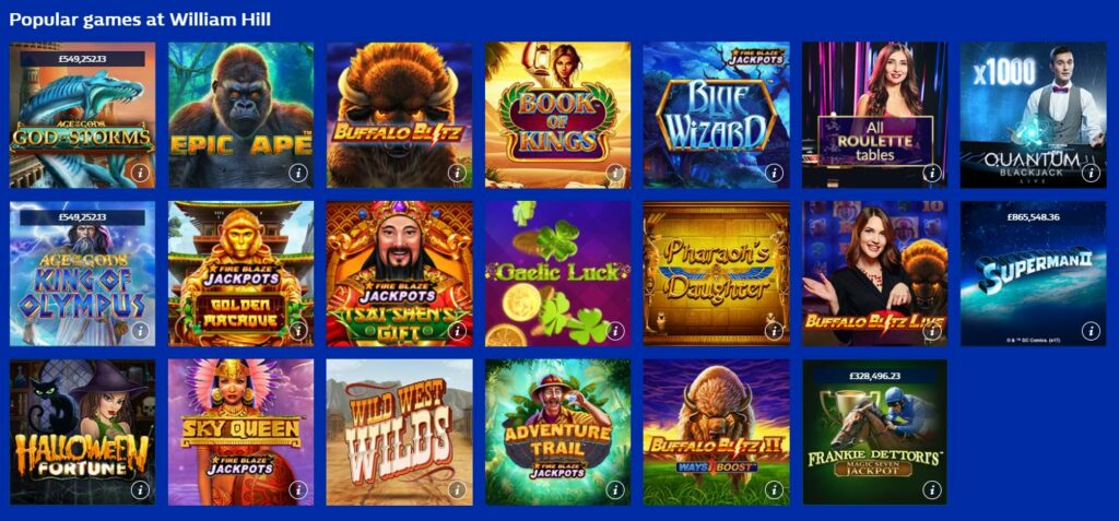 Category with popular games
