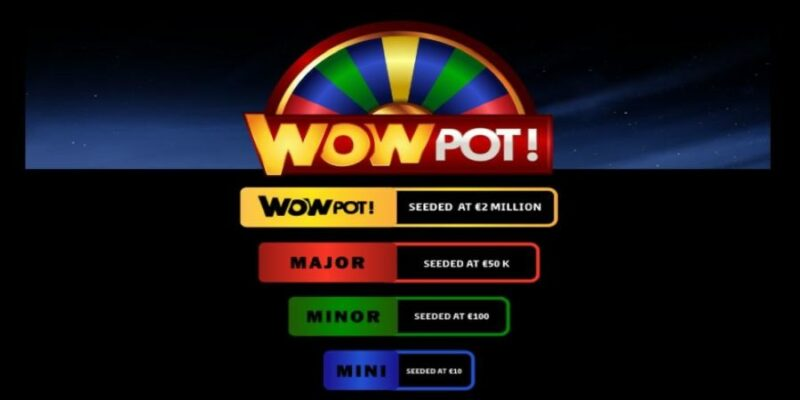 WowPot jackpot tiers and its starting seeds