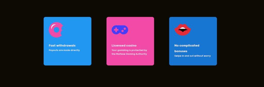 GoGo online casino features