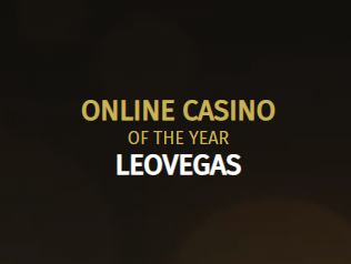 Online casino of the year LeoVegas