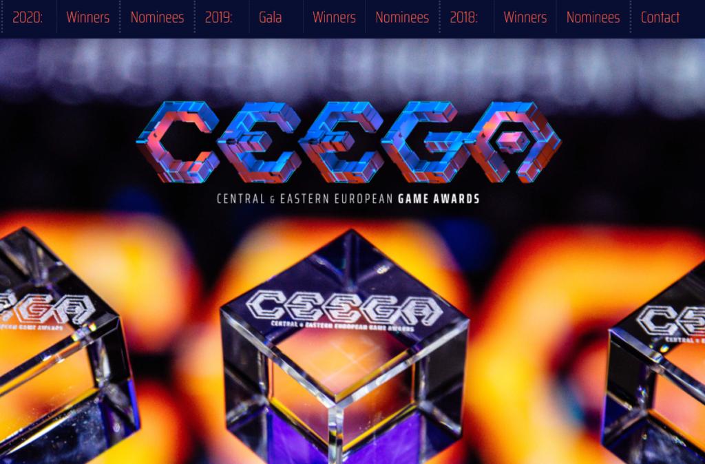 Ceega homepage
