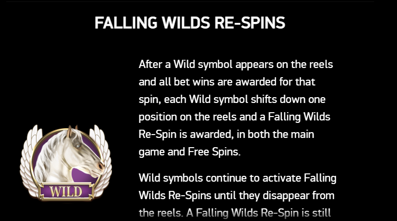 Falling wilds