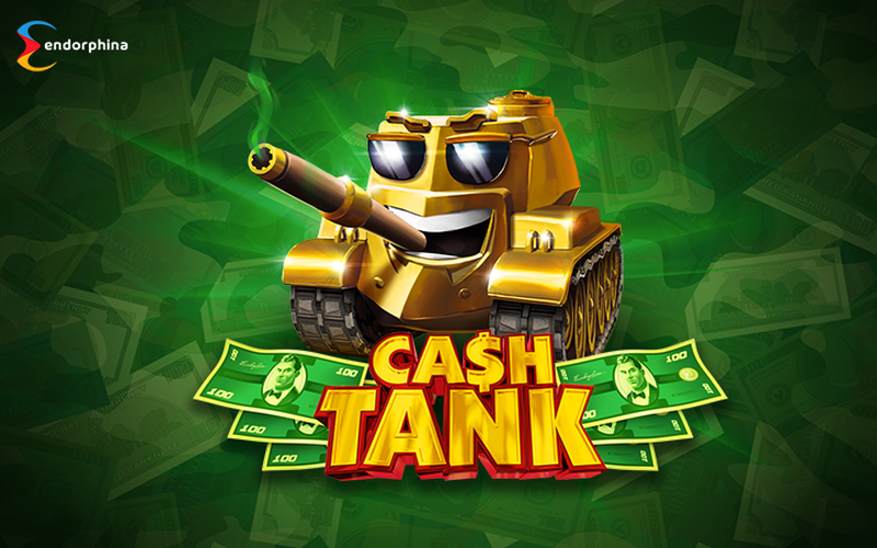 Cash Tank slot poster