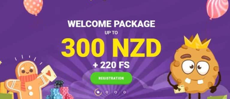 Cookie casino welcome bonus NZ