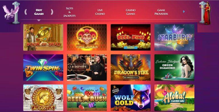 Games at Casino Gods