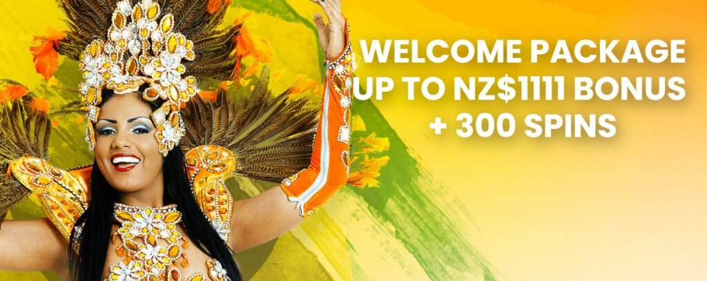 welcome bonus for New Zealand players