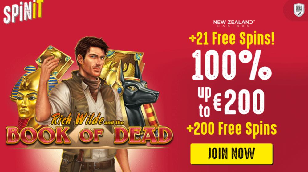 Spinit NZ bonus