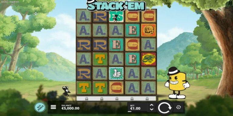 Stack 'Em start game