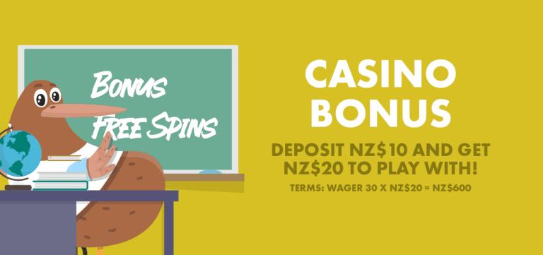 Casino bonus explained