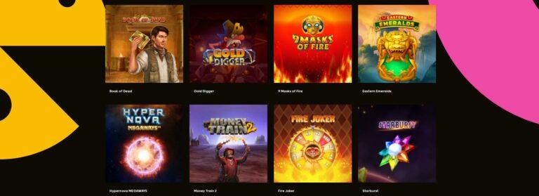 Popular pokie games at GoGo casino