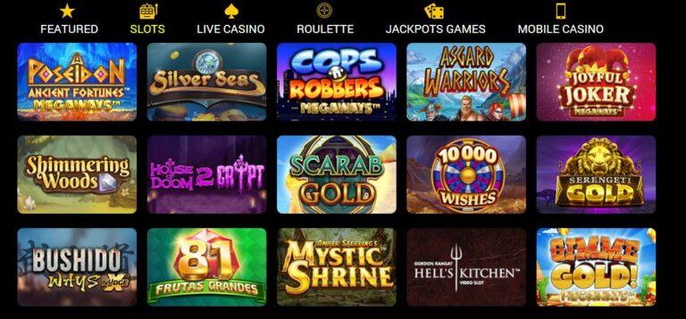 Conquer casino games